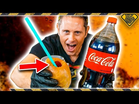 LOOK What You Can Do With Balloons and Coke!