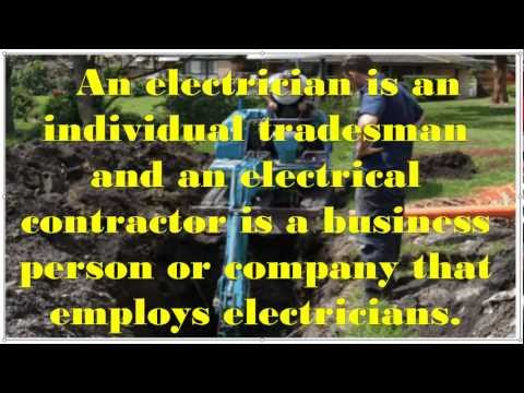 Difference Between Electrical Contractor and Electrician