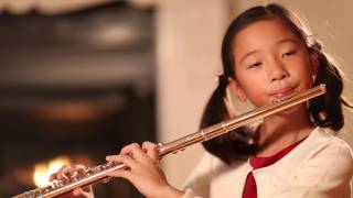Scarborough Fair flute by Emma He (9 yr old)