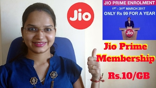 Jio Prime Membership Offer Launched | Free Unlimited Data For 1 Year | 99 rs Offer | 303 rs Plan