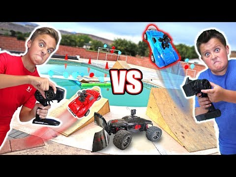 Thumbnail: RC CAR DRIVING ON THE WATER Balloon Bubble Ball Popping Challenge