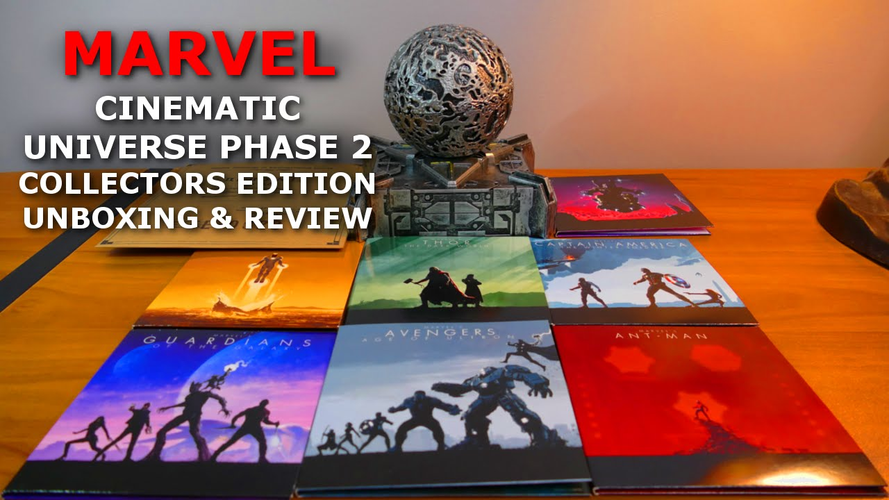 Marvel Cinematic Universe: Phase 2 Special Collectors ...