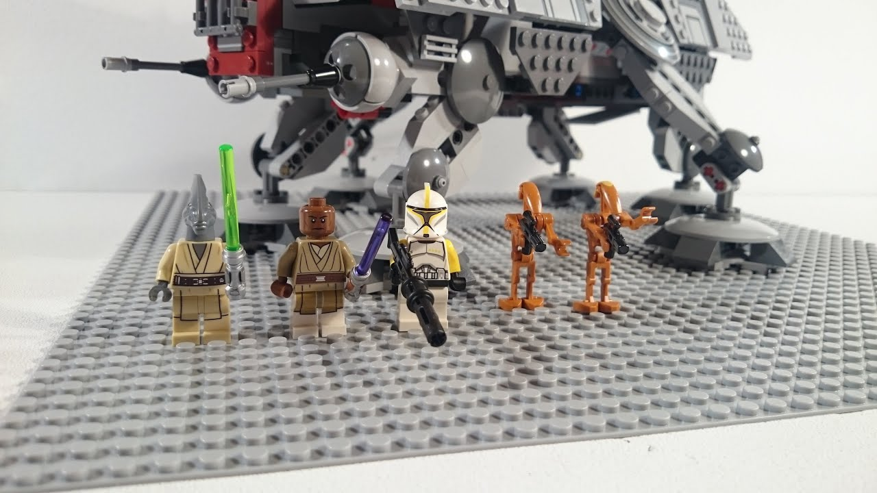 Lego Star Wars 75019 At Te Review Deutsch Youtube 75157 Captain Rexamp039s