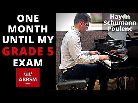 Piano Progress ABRSM Grade 5 pieces - Haydn, Schumann, Poulenc | Adult Piano Progress from YouTube · Duration:  3 minutes 54 seconds
