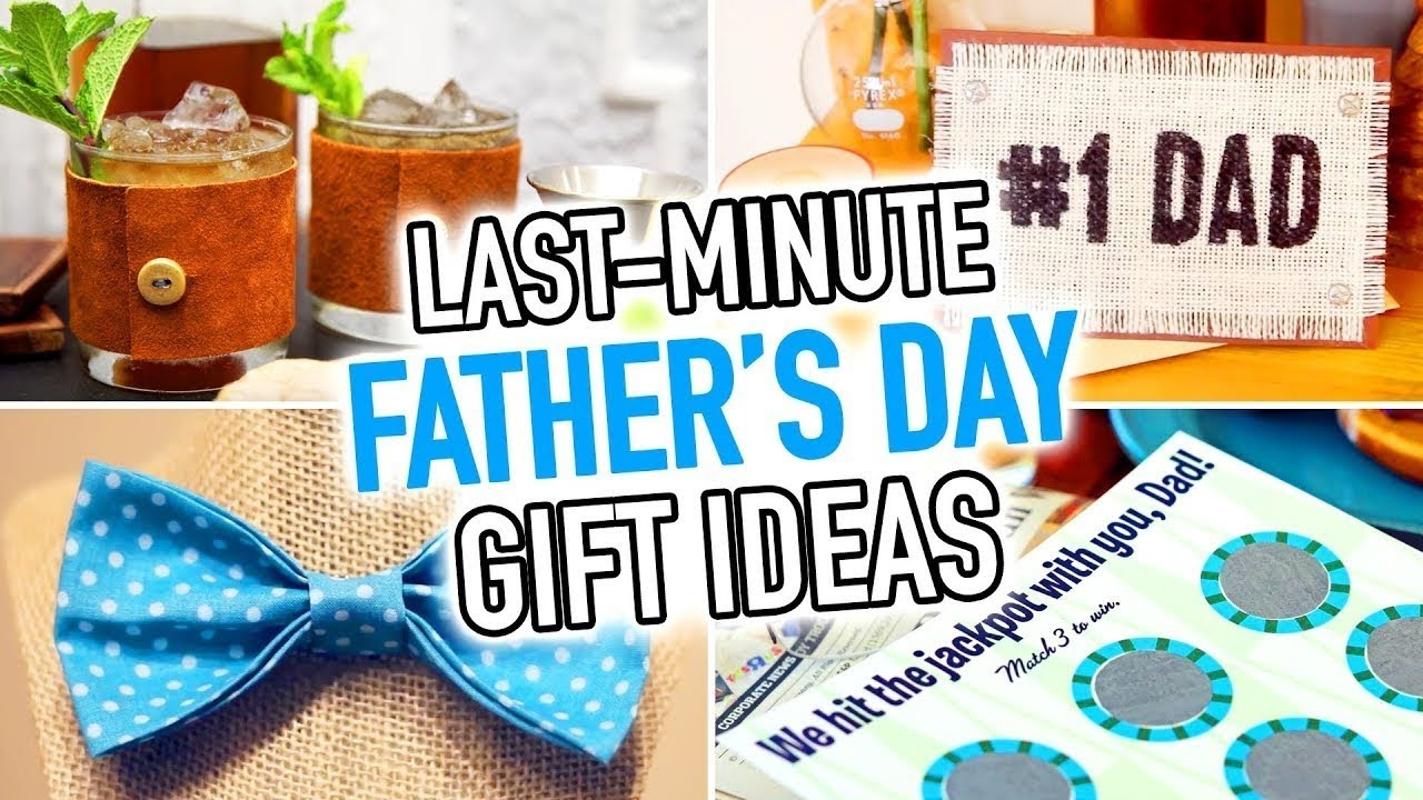 8 LAST MINUTE DIY Fathers Day Gift Ideas
