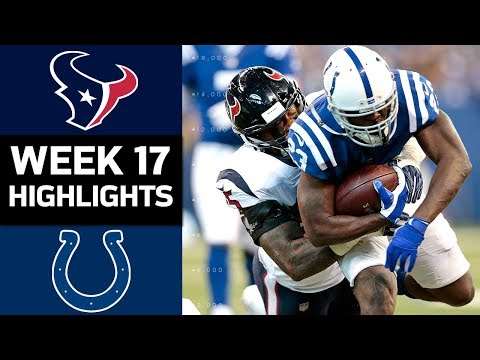 Texans vs. Colts | NFL Week 17 Game Highlights