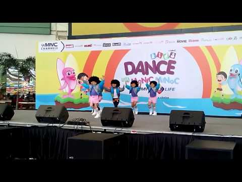 Grup dance FD Junior, peserta Dance With Monic & Minoc by MNC Life di Summarecon Mal Serpong