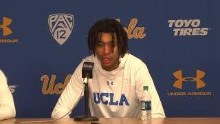 UCLA M. Basketball Postgame Press Conference - Players - 11.9.18