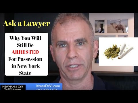 Can New York State Marijuana Charges Just Be Dismissed?