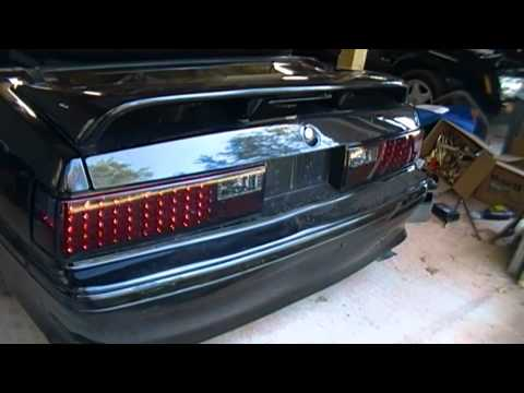 Led Tail Light Install In A Ford Foxbody Mustang How To