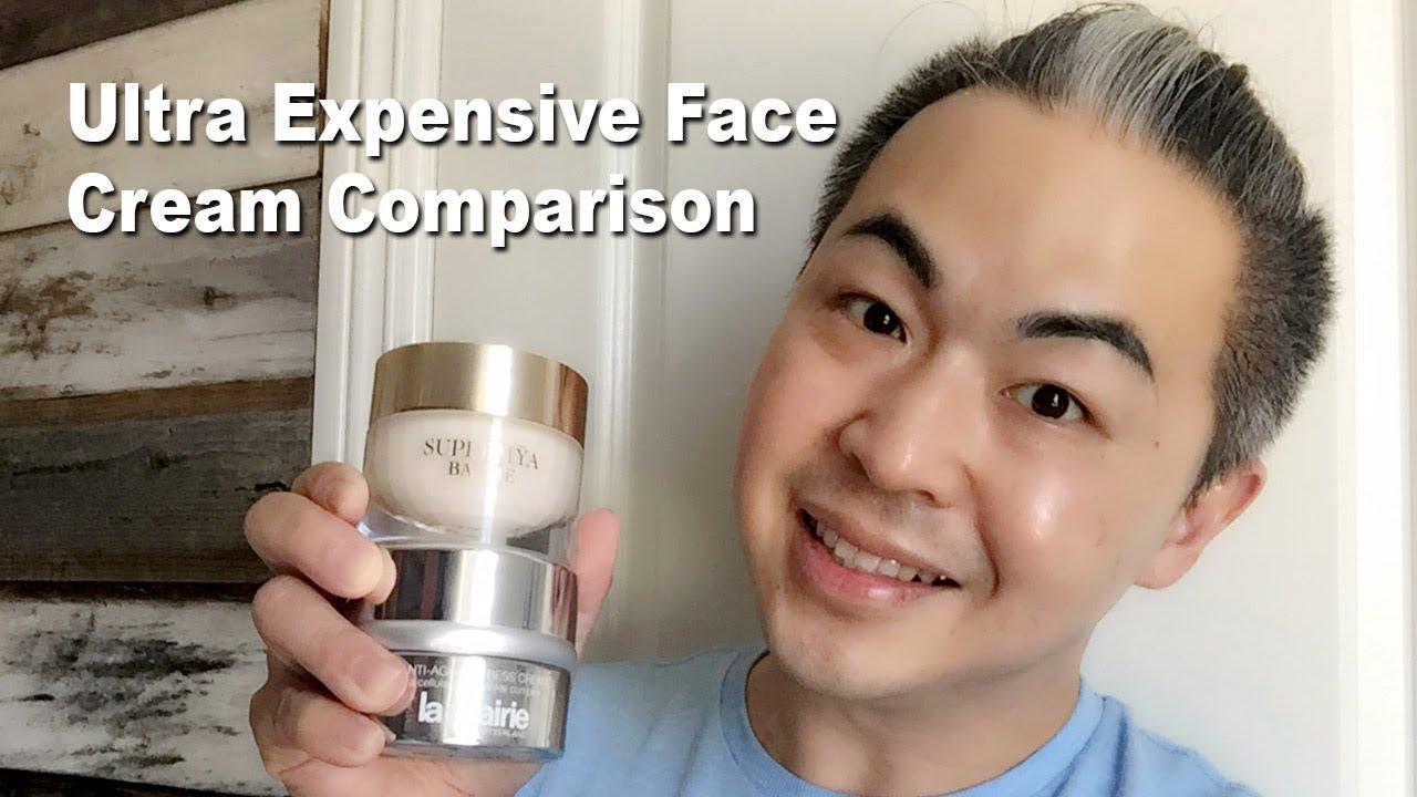 Comparison of facial creams
