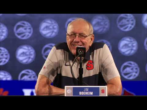 Syracuse Press Conference - ACC Media Day