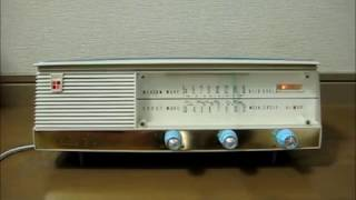 三洋電機 SANYO 真空管ラジオ SF-27  「てなもんや三度笠 藤田まこと」を聞いてみました。 山水康平 検索動画 21