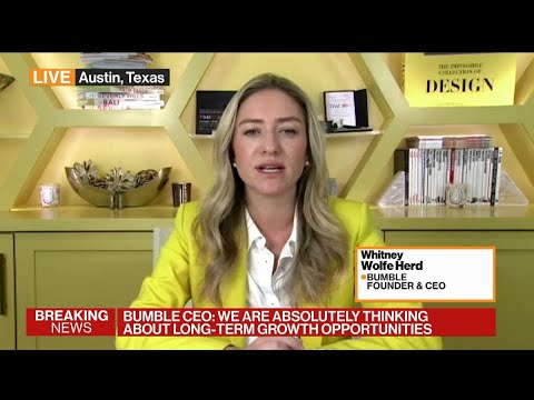 Bumble CEO Hopes Female-Led Firms Become the 'Norm'