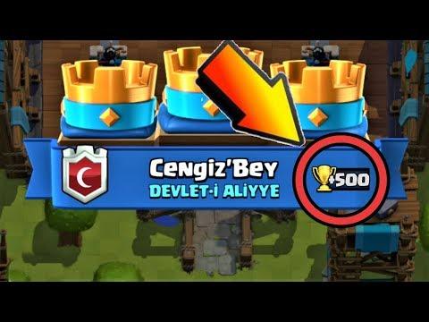 500 KUPA KAZANDIRAN TAKTİK !!! - Clash Royale
