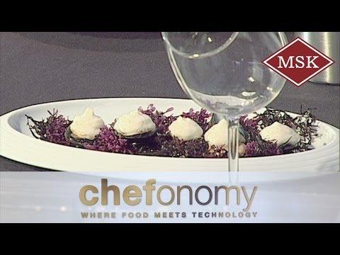 Methocel Hot Foam - presented by Oriol Castro, former El Bulli, at Chefonomy