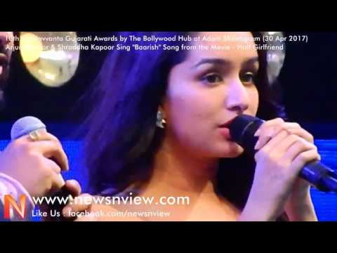 Half Girlfriend | Baarish Song | Shraddha Kapoor Singing at Award Show | Shraddha Kapoor Songs