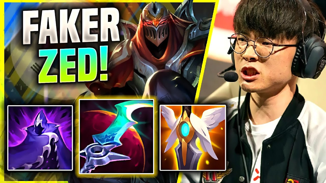 FAKER GIVES ZED THE LAST TRY! *WILL WORK?* - T1 Faker Plays Zed Mid vs Talon! | KR SoloQ Patch 11.4