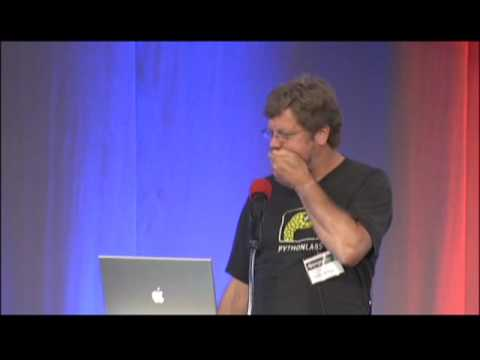 Image from DjangoCon 2008 Keynote: Guido van Rossum