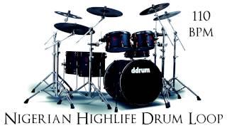 Nigerian Highlife Drum Loop 110 bpm