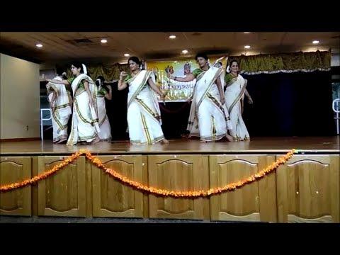Margazhi Manjil - Thiruvathira - Manjadikuru Movie - Sri Guruvaayoorappan Temple New Jersey USA