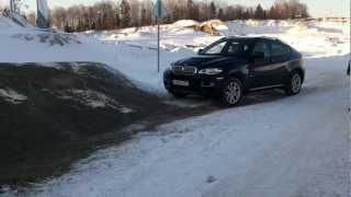 BMW Х6 ПРЕОДОЛЕНИЕ ПРЕПЯТСТВИЯ