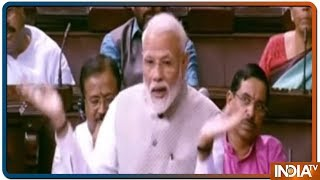 PM Slams Rajya Sabha Opposition For Going Against New India
