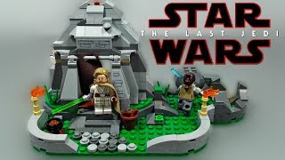 LEGO Star Wars The Last Jedi - Ahch To Island Training (75200) - Review + Upgrade