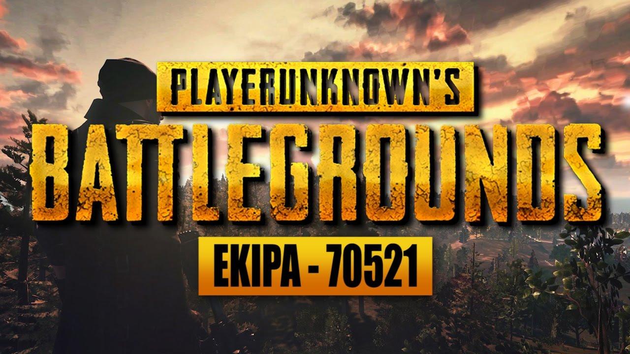 EKIPA PlayerUnknown's Battlegrounds – Pół na pół