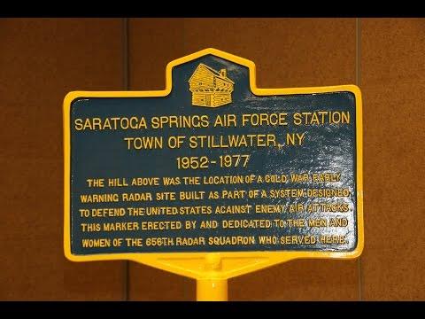 Saratoga Radar 656 Historical Marker Dedication