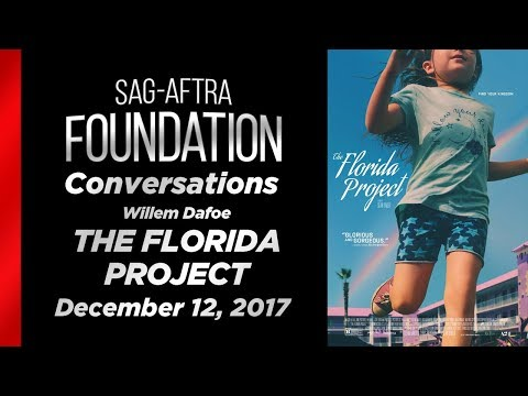 Conversations with Willem Dafoe of THE FLORIDA PROJECT