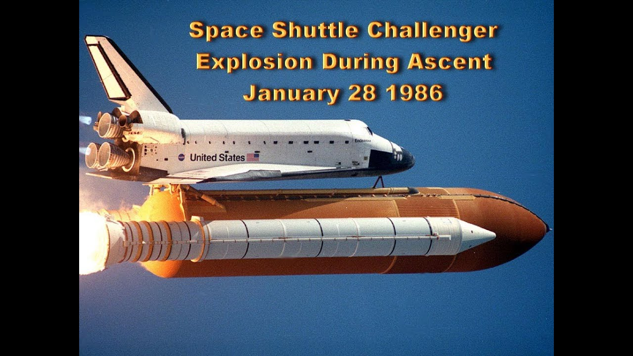 NASA Space Shuttle Challenger Explosion Disaster - 73 ...