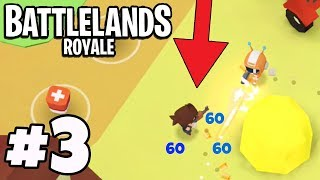 100% HACKING PLAYER KILLS ME! - Battlelands Royale #3 (FORTNITE. IO IOS / Android)