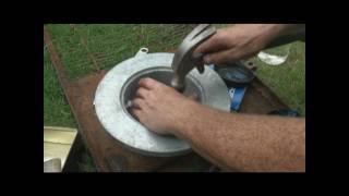 How to change Boat trailer Axle, Hubs and bearings