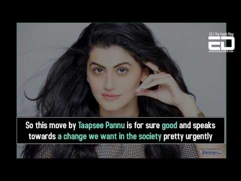 Taapsee Pannu Rejects Fairness Cream Event- This Is The New Award Wapsi
