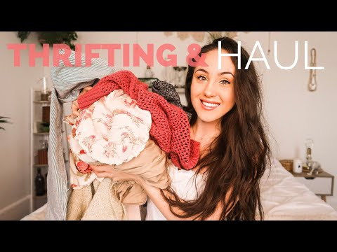 THRIFTING NO BUDGET CHALLENGE x TRY ON HAUL