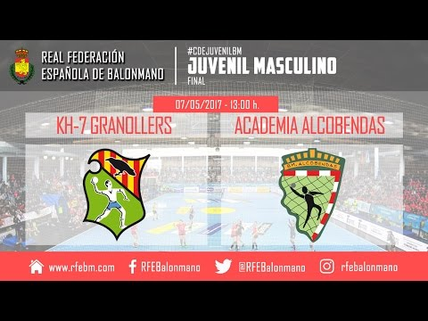 #CDEJuvenilBM Masculino - Final | KH-7 Granollers : Academia Alcobendas