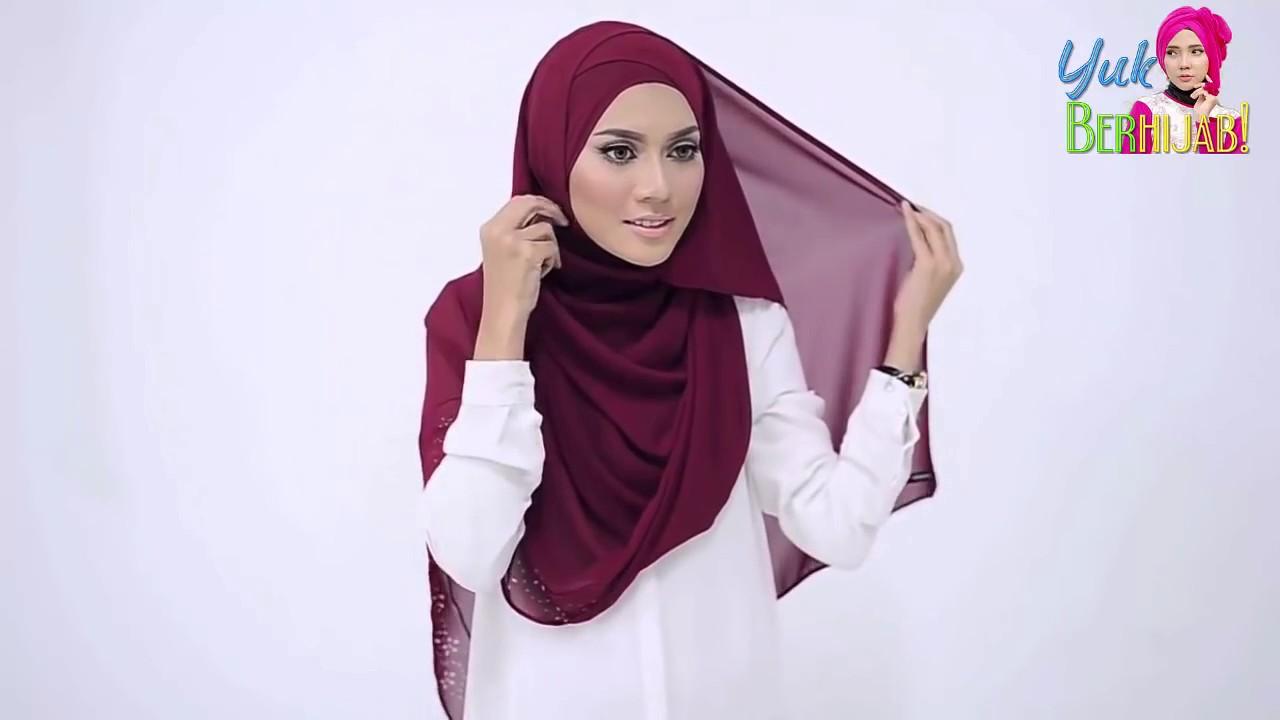 Tutorial Hijab Tebaru Pashmina Terkini Mudah Dan Simple Trend