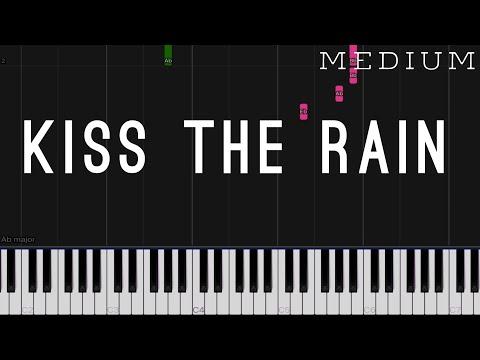 Kiss The Rain - Yiruma | Medium Piano Tutorial