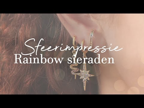 SPECIAL COLLECTION! Shop onze prachtige rainbow collectie nu