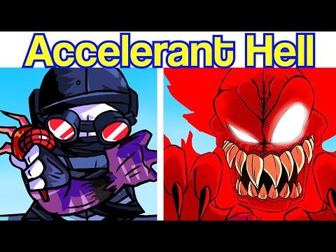 Friday Night Funkin': VS Hell Accelerant Hank (MAG Hank, Tricky, Hellclown, Deimos, Sanford) FNF Mod