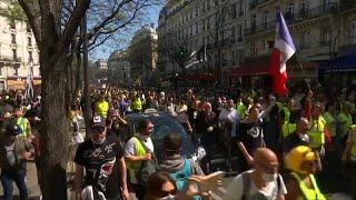 Gelbwesten-Proteste in Frankreich