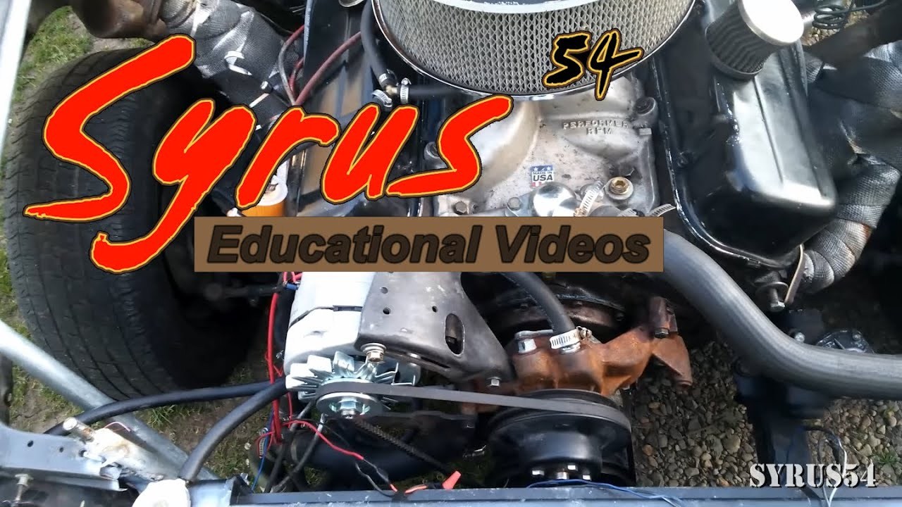 Vehicular Education Bbc Water Pump Hoses No Heater Core Youtube 1955 Ford F100