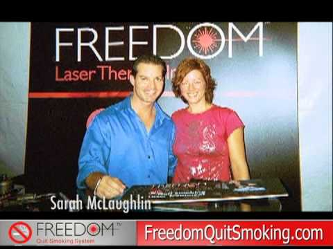 Freedom Laser Therapy Celebrity Reel - Learn About The New Freedom Quit Smoking System