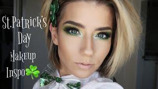 St. Paddy's Day Makeup Inspo