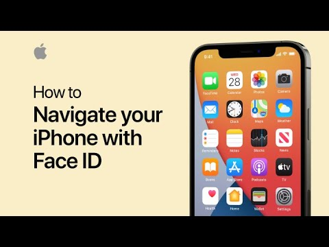 How to navigate your iPhone with Face ID — Apple Support