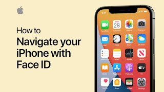 How to navigate your iPhone with Face ID - Apple Support