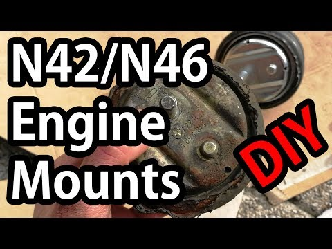 BMW E46 N42/N46 Engine Mounts - Replacement DIY Guide