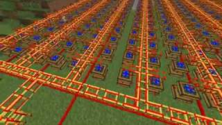 Minecraft: Technicpack redstone engines run a Quarry