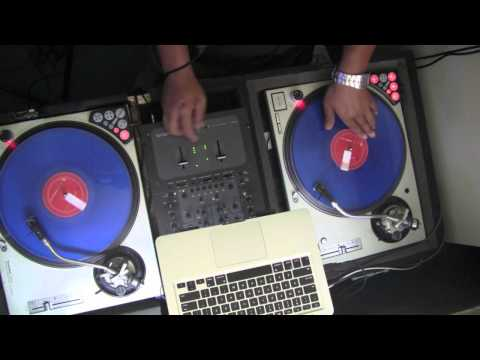 How to do a Flare Scratch (4 oldschool DJ's)
